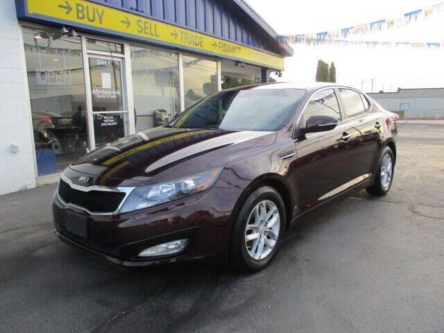 2013 Kia Optima for sale at Affordable Auto Rental & Sales in Spokane Valley WA