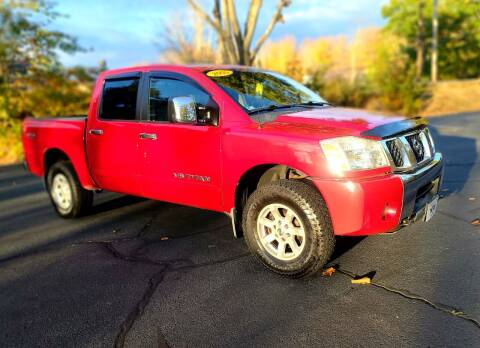 2005 Nissan Titan for sale at Flying Wheels in Danville NH
