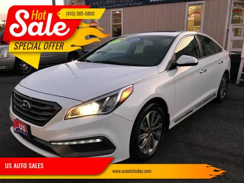 2017 Hyundai Sonata for sale at US AUTO SALES in Baltimore MD