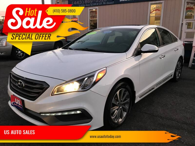 2017 Hyundai Sonata for sale at US AUTO SALES in Baltimore MD