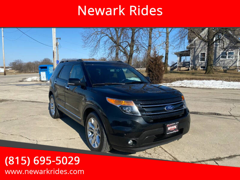 2013 Ford Explorer for sale at Newark Rides in Newark IL