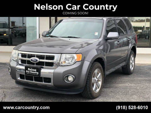 2012 Ford Escape for sale at Nelson Car Country in Bixby OK