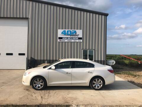 2012 Buick LaCrosse for sale at 402 Autos in Lindsay NE