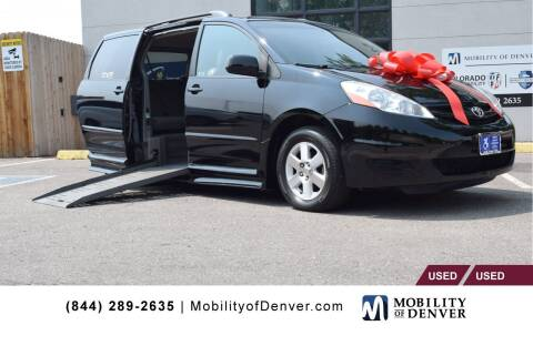 2008 Toyota Sienna for sale at CO Fleet & Mobility in Denver CO