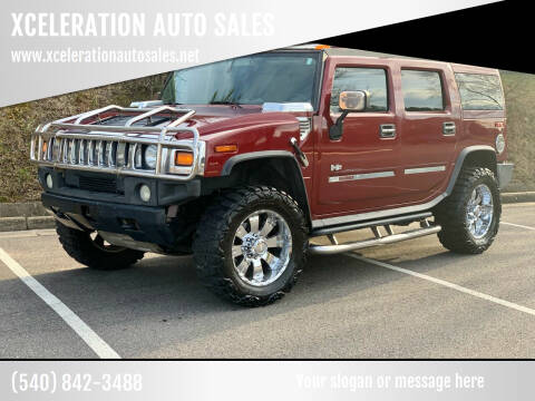 2003 HUMMER H2 for sale at XCELERATION AUTO SALES in Chester VA