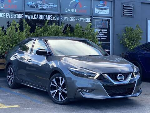 2017 Nissan Maxima for sale at CARUCARS LLC in Miami FL