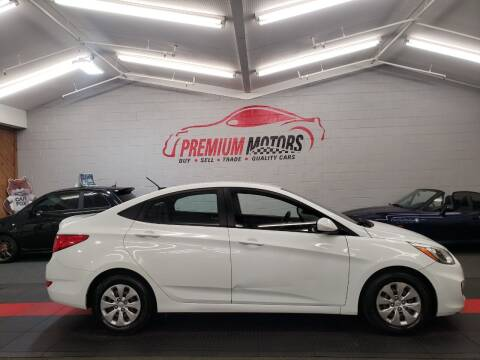 2016 Hyundai Accent for sale at Premium Motors in Villa Park IL