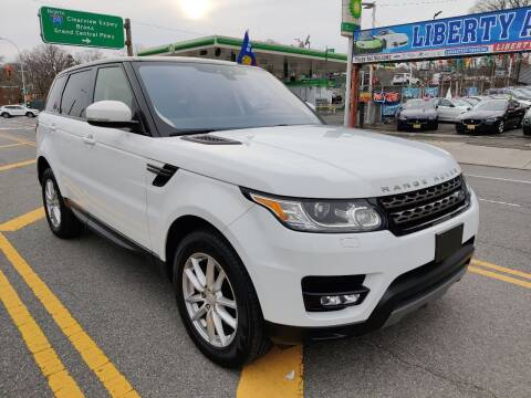 2017 Land Rover Range Rover Sport for sale at LIBERTY AUTOLAND INC in Jamaica NY