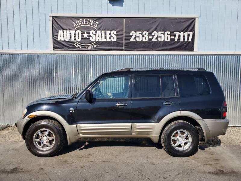2002 Mitsubishi Montero for sale at Austin's Auto Sales in Edgewood WA