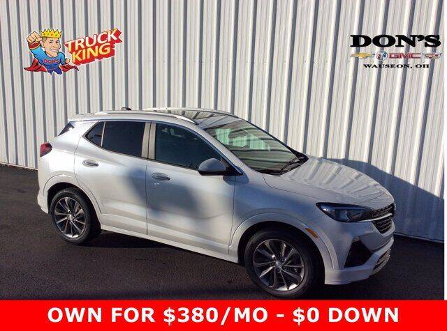 2020 Buick Encore GX for sale at DON'S CHEVY, BUICK-GMC & CADILLAC in Wauseon OH