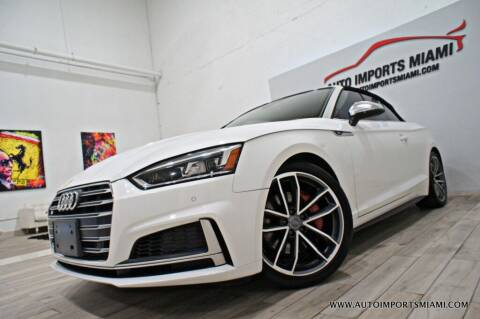 2018 Audi S5 for sale at AUTO IMPORTS MIAMI in Fort Lauderdale FL