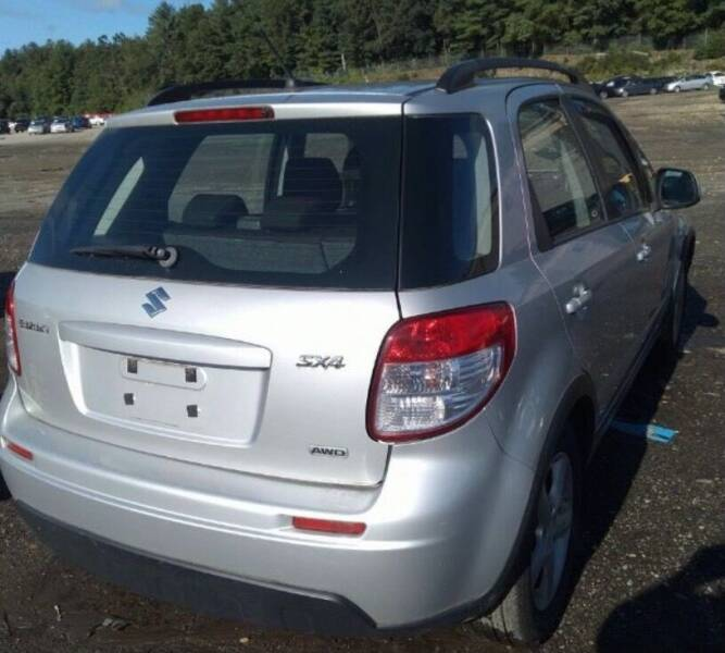 2007 Suzuki SX4 Crossover for sale at GDT AUTOMOTIVE LLC in Hopewell NY