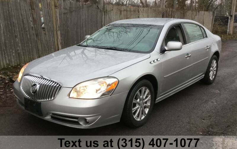 2011 Buick Lucerne for sale at Pete Kitt's Automotive Sales & Service in Camillus NY