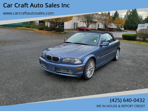 2003 BMW 3 Series for sale at Car Craft Auto Sales Inc in Lynnwood WA