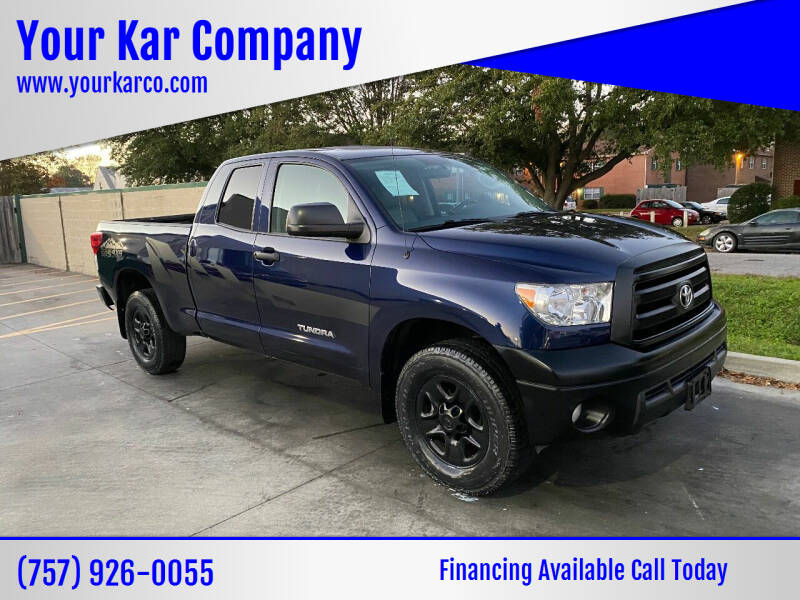 2013 Toyota Tundra for sale at Your Kar Company in Norfolk VA