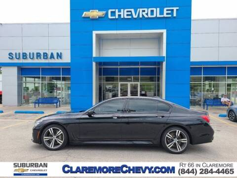 2017 BMW 7 Series for sale at Suburban Chevrolet in Claremore OK