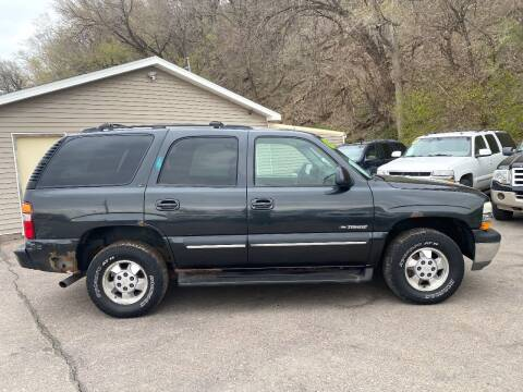 2003 Chevrolet Tahoe for sale at Iowa Auto Sales, Inc in Sioux City IA