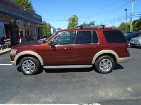 2010 Ford Explorer for sale at Gemini Auto Sales in Providence RI