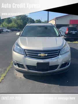 2013 Chevrolet Traverse for sale at Auto Credit Xpress in Jonesboro AR