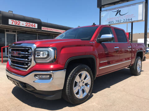 2018 GMC Sierra 1500 for sale at NORRIS AUTO SALES in Oklahoma City OK
