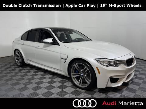 2017 BMW M3 for sale at CU Carfinders in Norcross GA