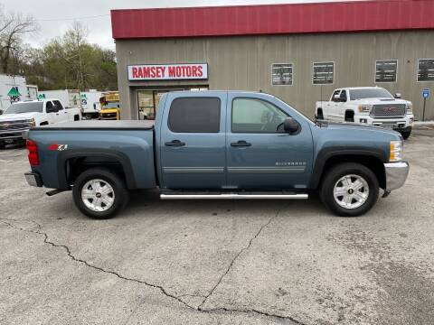 2013 Chevrolet Silverado 1500 for sale at Ramsey Motors in Riverside MO