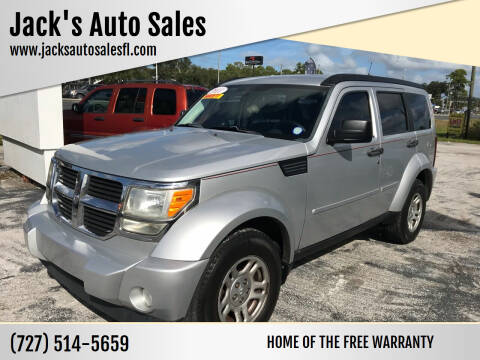 2011 Dodge Nitro for sale at Jack's Auto Sales in Port Richey FL