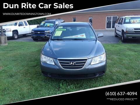 2009 Hyundai Sonata for sale at Dun Rite Car Sales in Downingtown PA