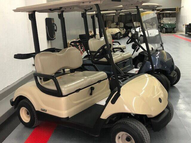 2016 Yamaha Gas Golf Car for sale at Curry's Body Shop in Osborne KS