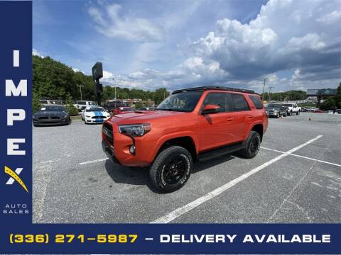 2015 Toyota 4Runner for sale at Impex Auto Sales in Greensboro NC