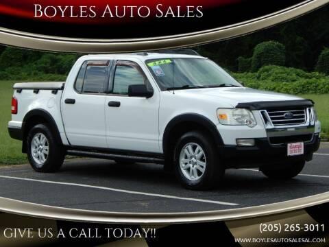 2007 Ford Explorer Sport Trac for sale at Boyles Auto Sales in Jasper AL