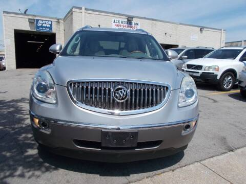 2011 Buick Enclave for sale at ACH AutoHaus in Dallas TX