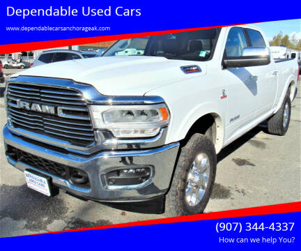2020 RAM Ram Pickup 2500 for sale at Dependable Used Cars in Anchorage AK