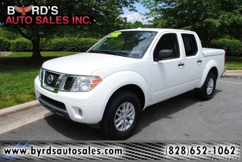 2016 Nissan Frontier for sale at Byrds Auto Sales in Marion NC