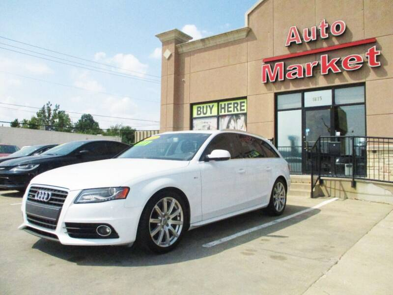 2012 Audi A4 for sale at Auto Market in Oklahoma City OK