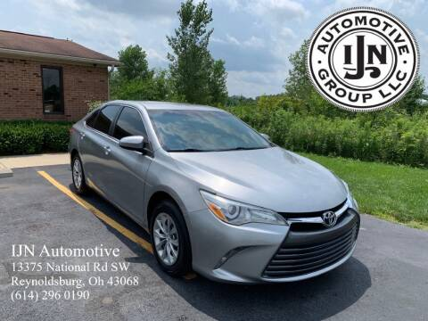 2015 Toyota Camry for sale at IJN Automotive Group LLC in Reynoldsburg OH