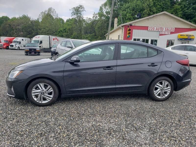 2020 Hyundai Elantra for sale at 220 Auto Sales in Rocky Mount VA