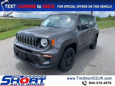 2020 Jeep Renegade for sale at Tim Short Chrysler in Morehead KY