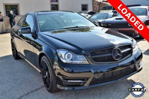 2013 Mercedes-Benz C-Class for sale at LAKESIDE MOTORS, INC. in Sachse TX