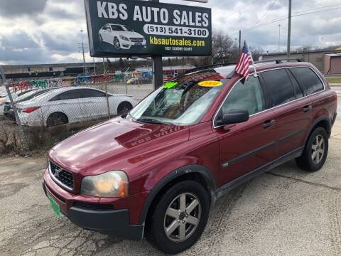 2004 Volvo XC90 for sale at KBS Auto Sales in Cincinnati OH