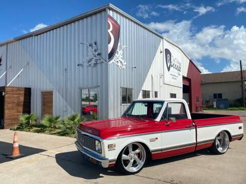 1971 Chevy C10 Shortbed for sale at Barrett Auto Gallery in San Juan TX