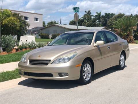 2003 Lexus ES 300 for sale at L G AUTO SALES in Boynton Beach FL