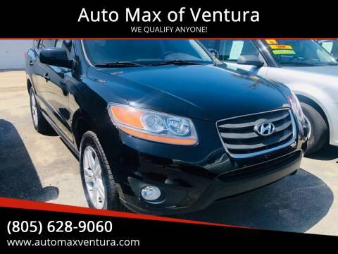 2010 Hyundai Santa Fe for sale at Auto Max of Ventura in Ventura CA