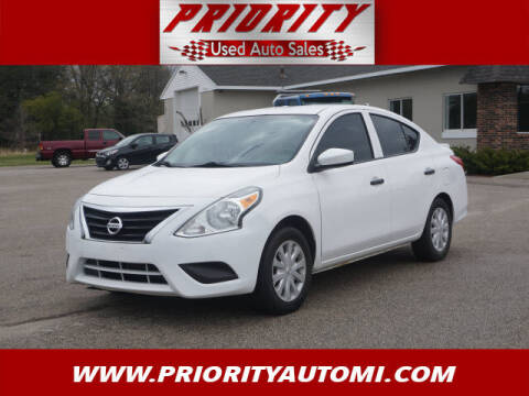 2016 Nissan Versa for sale at Priority Auto Sales in Muskegon MI