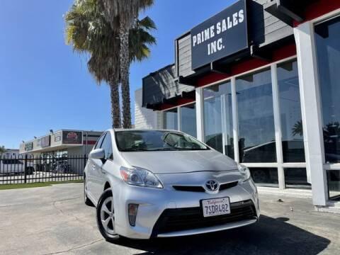 2015 Toyota Prius for sale at Prime Sales in Huntington Beach CA
