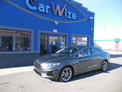 2019 Ford Fusion for sale at Carwize in Detroit MI