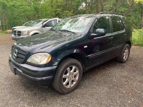 1999 Mercedes-Benz M-Class for sale at LONGWOOD MOTORS in Stockholm NJ