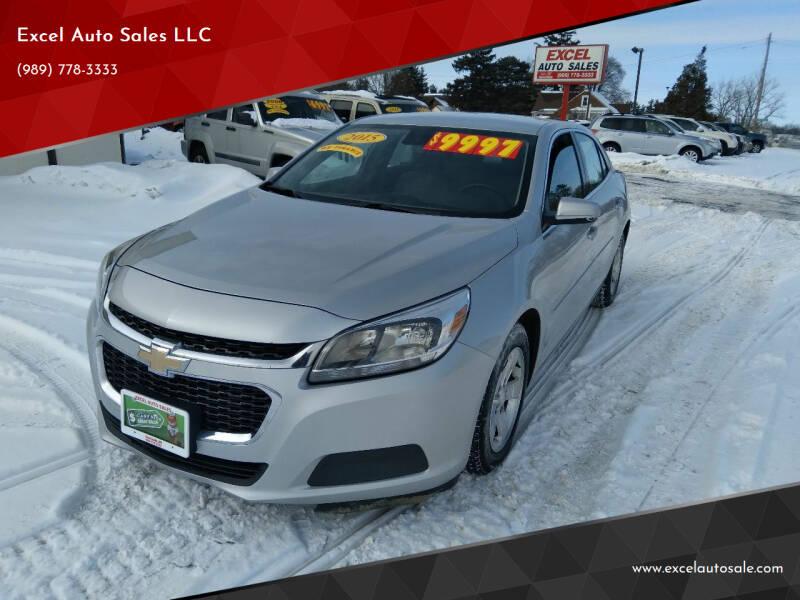 2015 Chevrolet Malibu for sale at Excel Auto Sales LLC in Kawkawlin MI