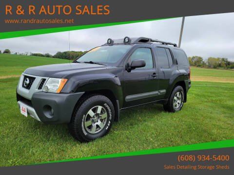 2011 Nissan Xterra for sale at R & R AUTO SALES in Juda WI