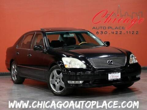 2005 Lexus LS 430 for sale at Chicago Auto Place in Bensenville IL